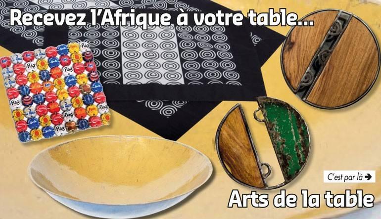 Recevez l'Afrique à votre table !